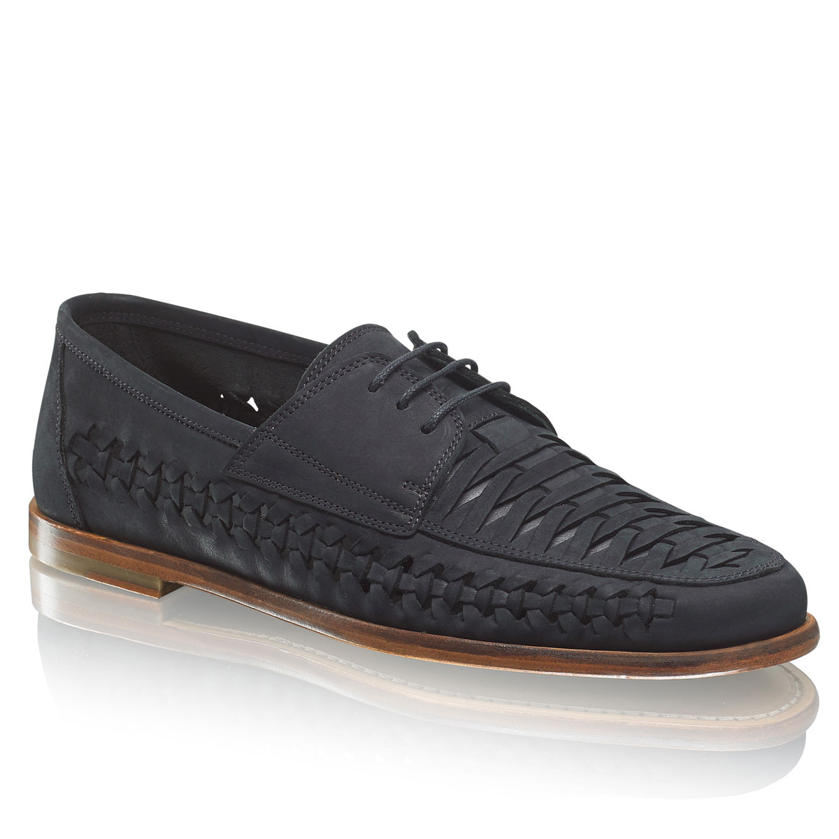 Russell And Bromley CUTLASS Woven Lace-Up