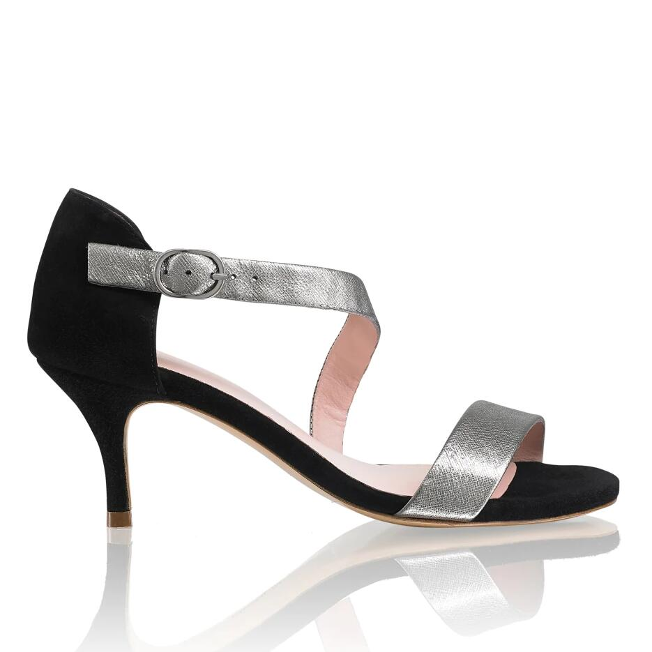Russell And Bromley DANCEMID Asymmetric Kitten Heel
