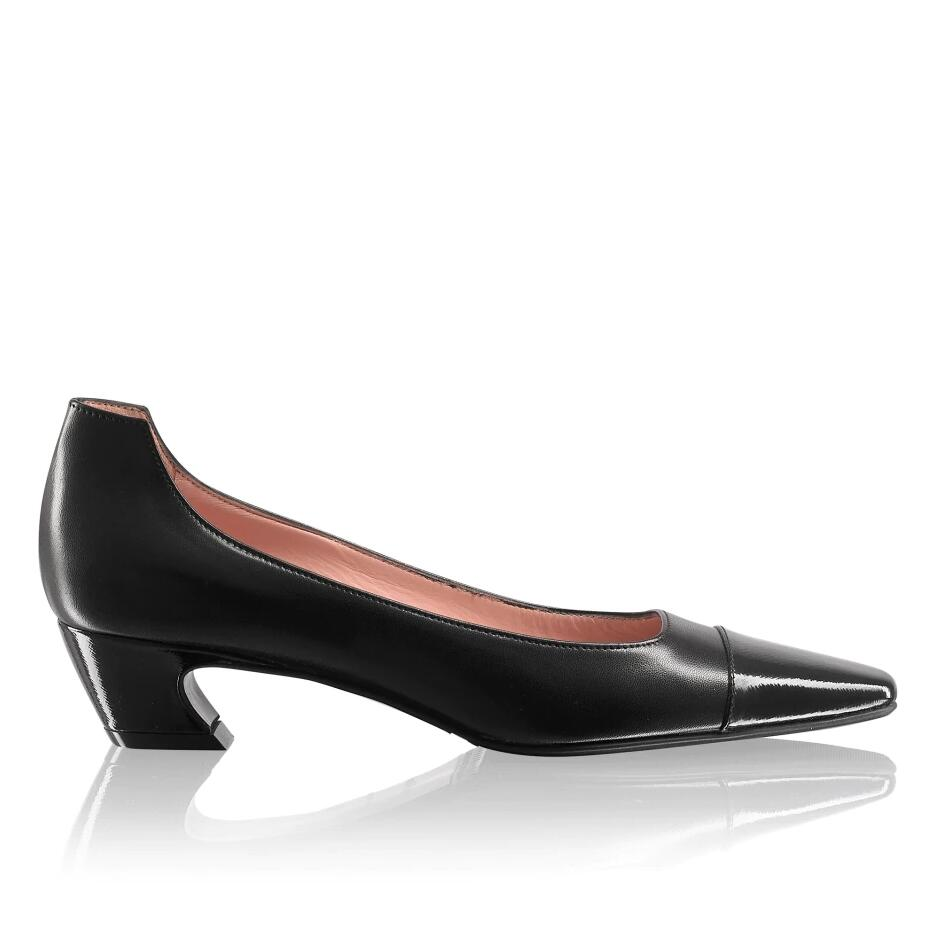 Russell And Bromley CURVATURE Toe-Cap Mid Curve Court