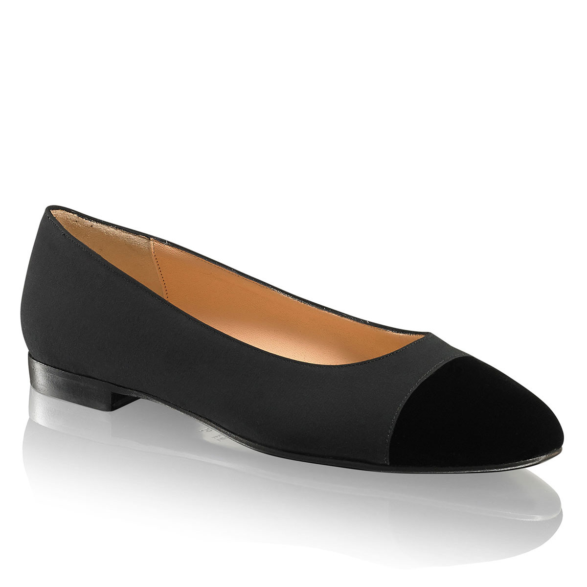 Russell And Bromley JEANIE Toe-Cap Flat