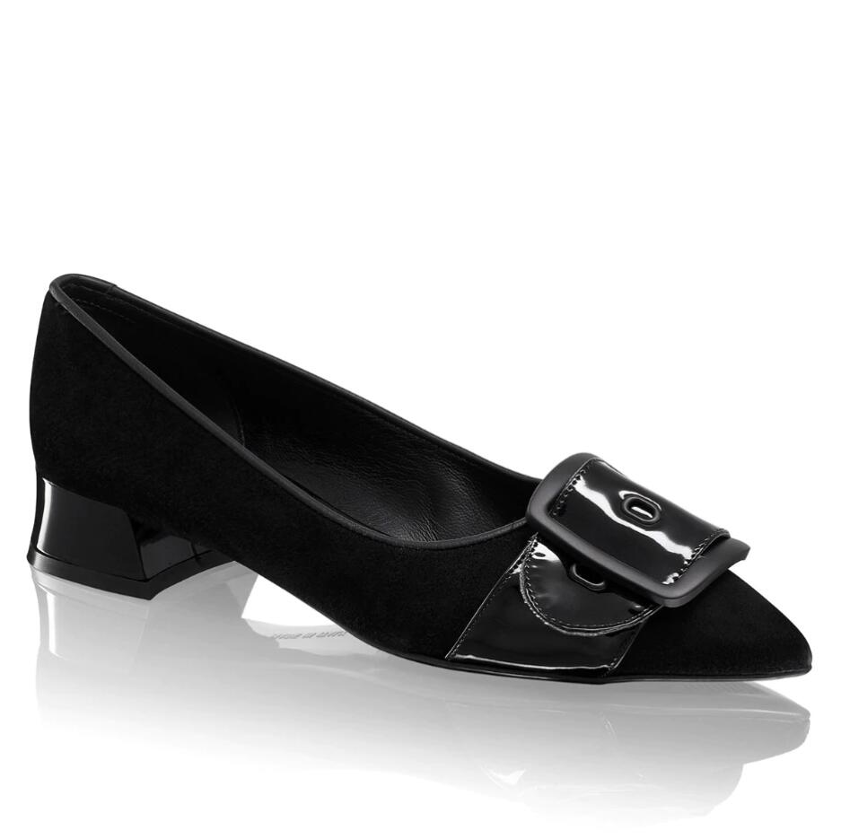 Russell And Bromley DOLLYFLAT2 Buckle Trim Flat