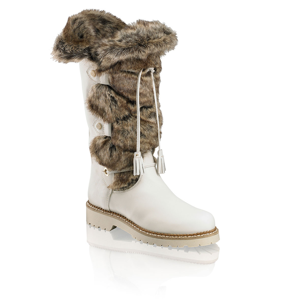 Russell And Bromley HIGHLANDER Faux-Fur Boot